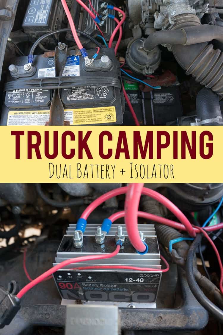 Chevy Generator Wiring Adding A Dual Battery Setup For Truck Camping Vanlife Or