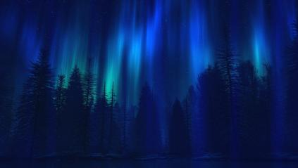 Beautiful Aurora Boreal Animated Wallpaper Preview