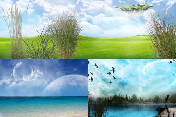 Distant Landscapes Animated Wallpaper Preview