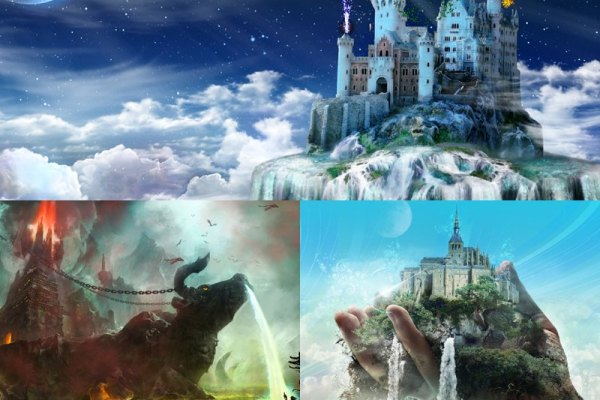 Fantasy Castles Animated Wallpaper Preview