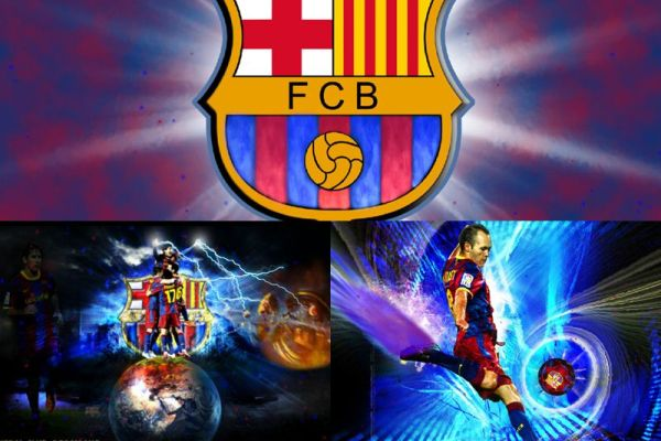 Futbol Club Barcelona Animated Wallpaper Preview
