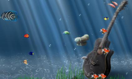 Ocean Adventure Aquarium Animated Wallpaper Preview