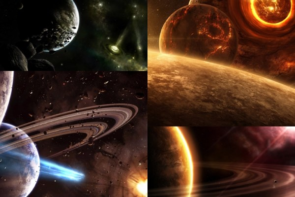 Planet Universe Animated Wallpaper Preview