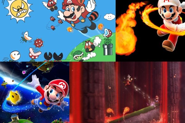 Super Mario Animated Wallpaper Preview