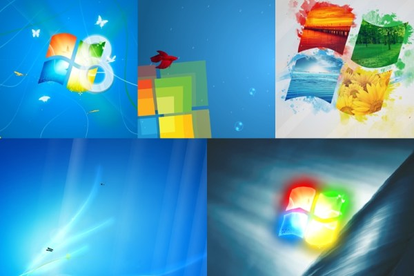 Windows 8 Light Wallpaper Preview