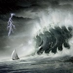 Ocean Storm Animated Wallpaper