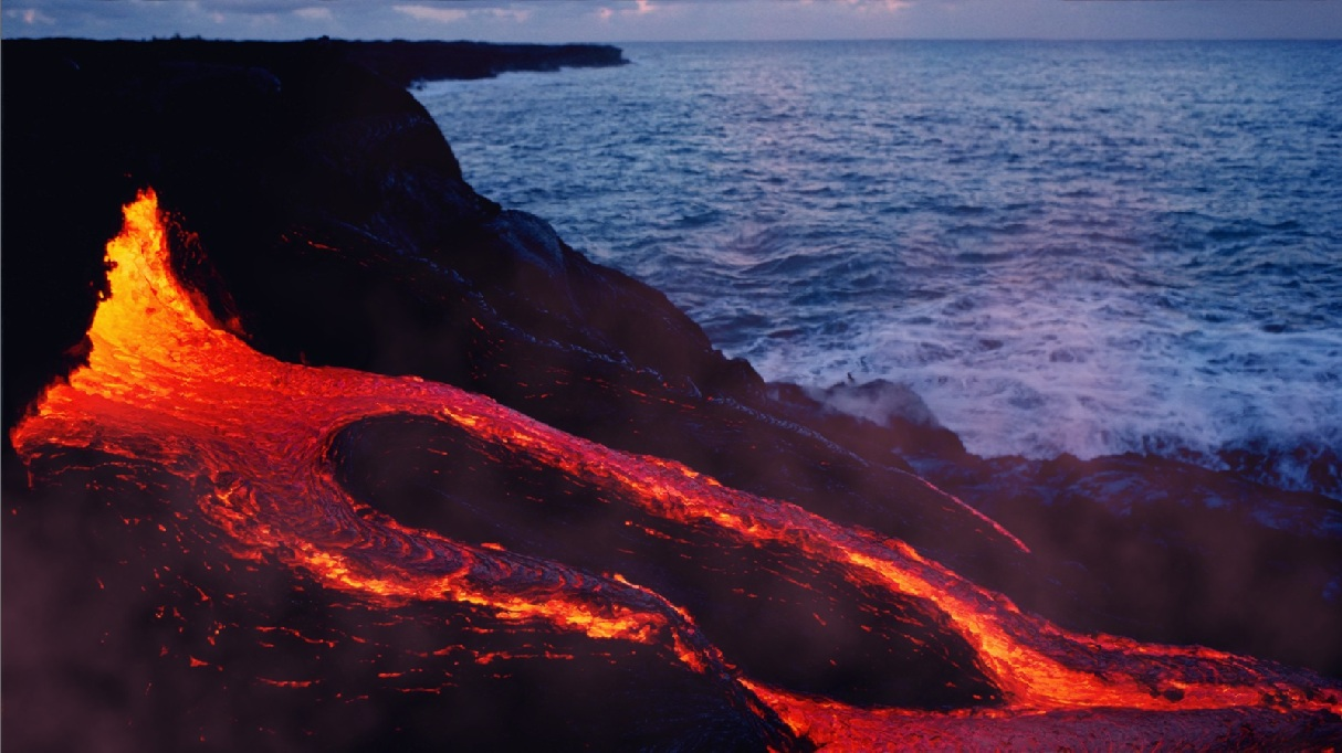 Animated Lonely Boy Wallpapers Lava Flows Animated Wallpaper Desktopanimated Com