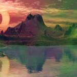 Sky Lakes Animated Wallpaper