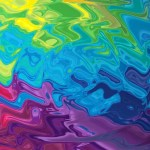 Rainbow Explosion Animated Wallpaper