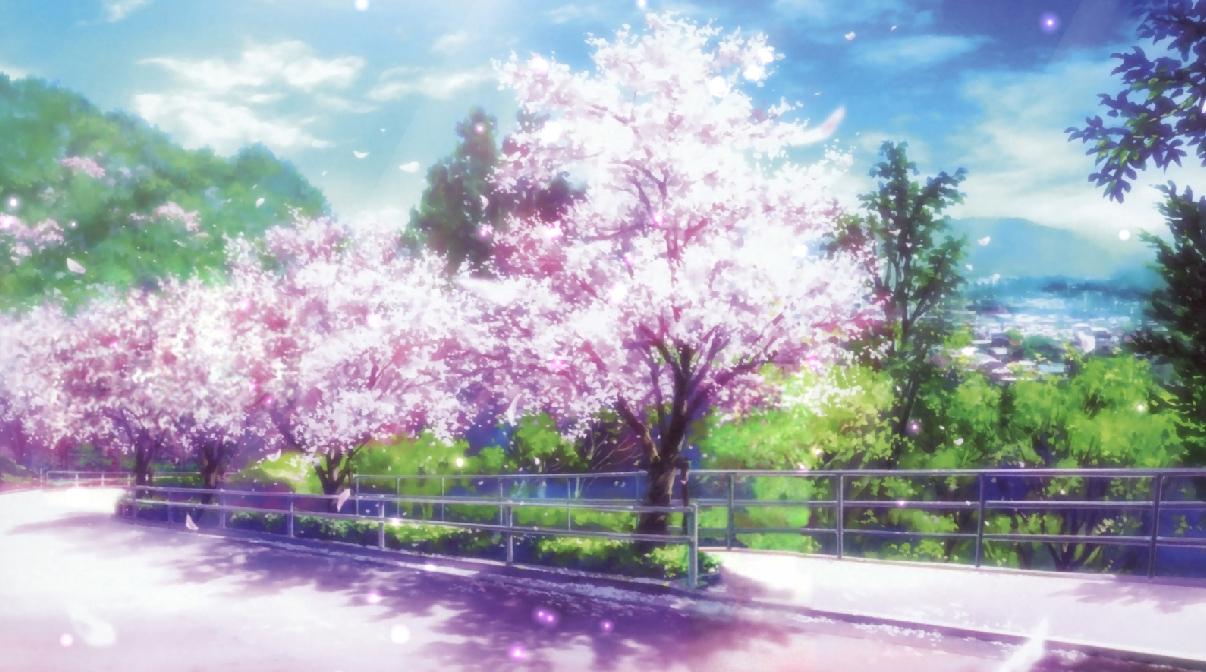 Falling Snow Live Wallpaper For Pc Cherry Blossoms Animated Wallpaper Desktopanimated Com