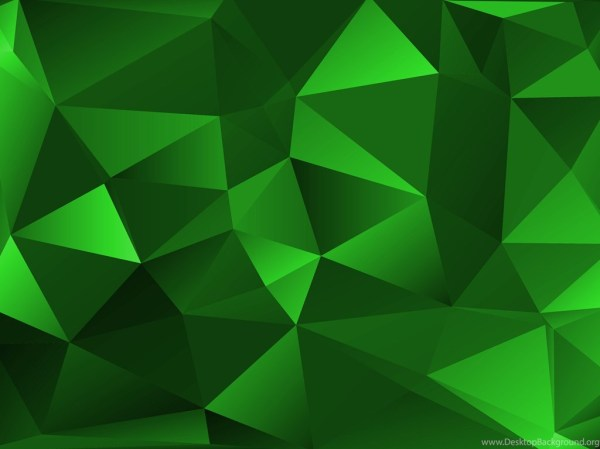 Green Polygon Backgrounds Texturezine Desktop Background