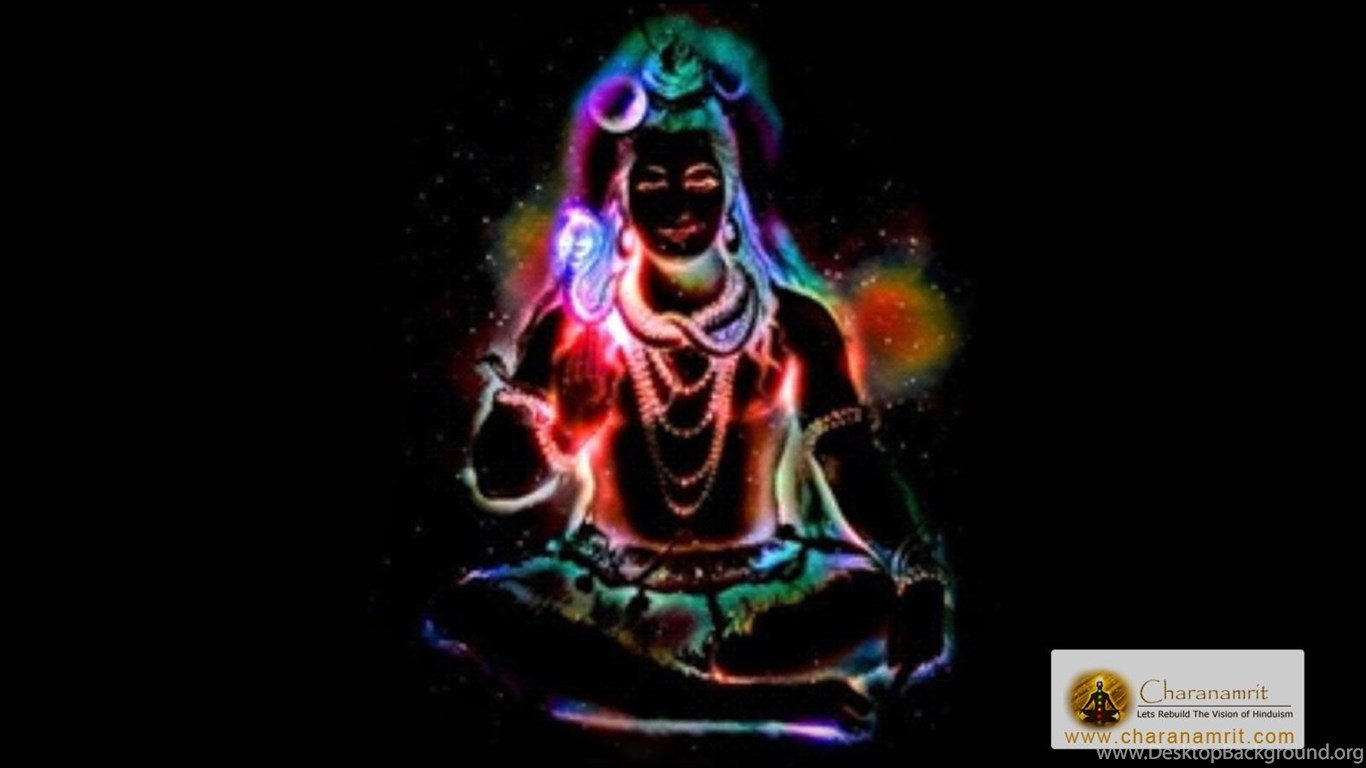 Lord Shiva Animated Wallpapers For Mobile Lord Shiva Colorful Lighting Effects Hd Wallpapers For