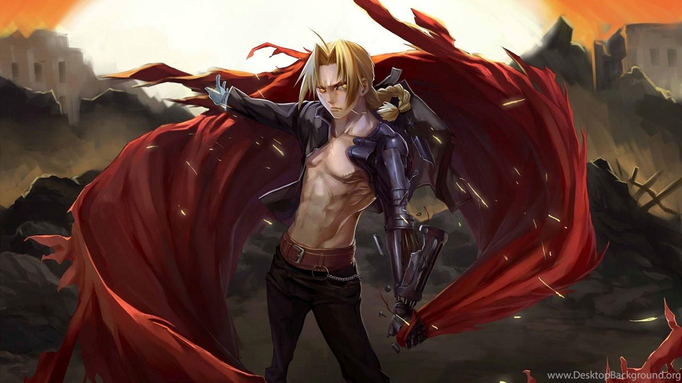 Anime Ipod Wallpapers Edward Elric Fullmetal Alchemist Wallpapers Desktop Background