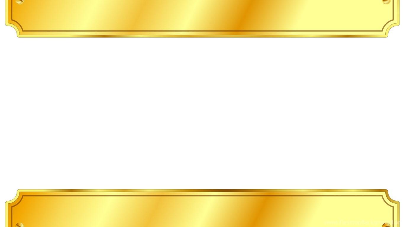 Iphone X Border Wallpaper Gold Metal Sign Backgrounds 3d Border Amp Frames White