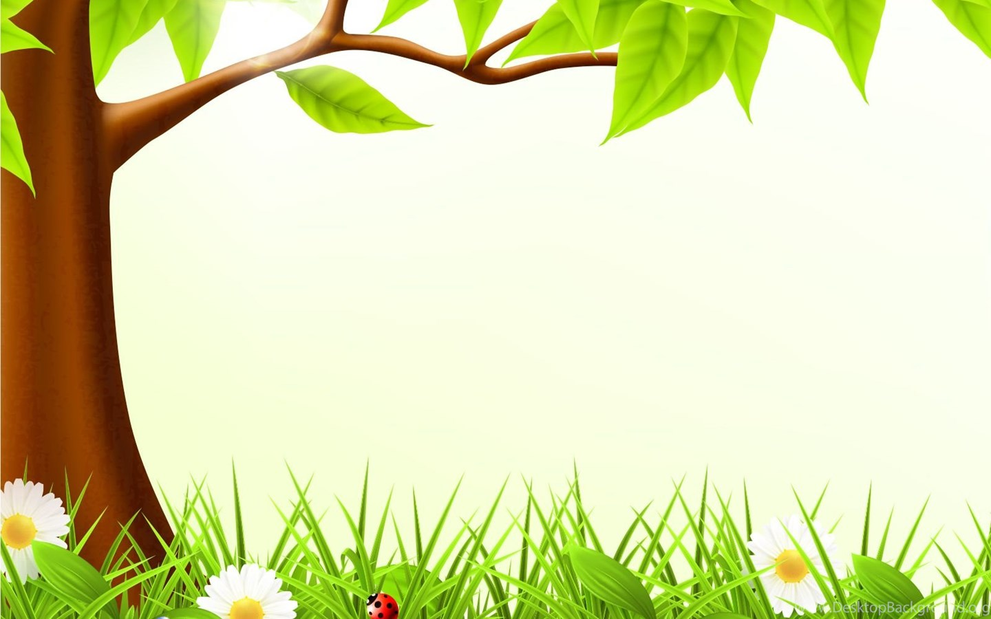 Iphone 5s Animated Wallpaper Cute Forest Spring Backgrounds Design Green Nature