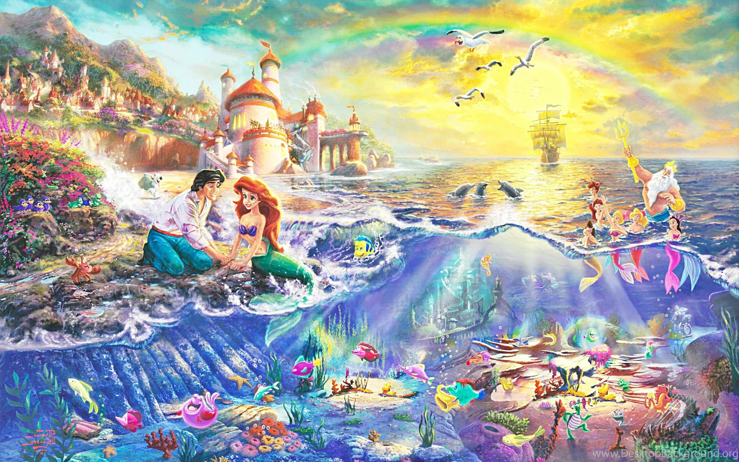 Adventure Time Wallpaper Iphone X Little Mermaid Disney Fantasy Animation Cartoon Adventure