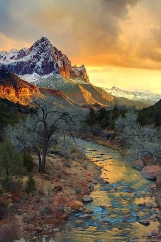 Iphone 4s Wallpaper Resolution Zion National Park Hd Wallpapers 4 Jpg Desktop Background