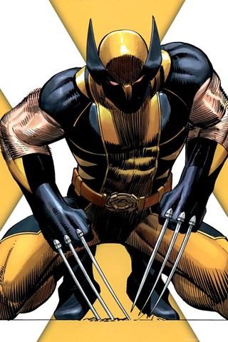X Men Wolverine Yellow Marvel Comics Cartoon HD