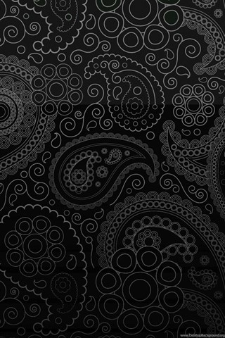 Ipod Touch 5 Wallpaper Hd Black Paisley Wallpapers Wallpapers Zone Desktop Background