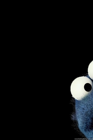 Hd Wallpapers 1080p Black High Resolution Black Cookie Monster Hd 1080p Wallpapers