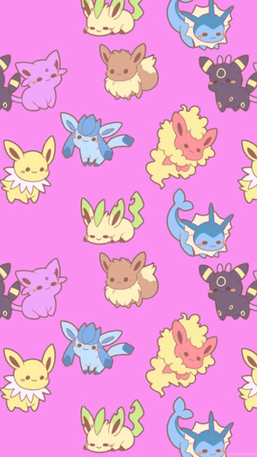 Cute Pokemon Iphone Wallpapers The Paper Pile Pastel Pink Pokemon Desktop Wallpaper
