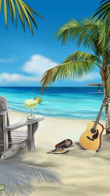 320x480 Animated Wallpapers Margaritaville Beach Scene Picture Wallpapers 1024 X 768