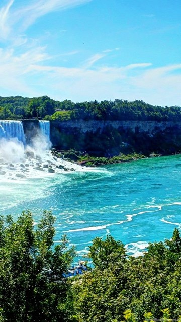 Niagara Falls At Night Wallpaper Hd Niagara Falls Hd Pictures Desktop Background
