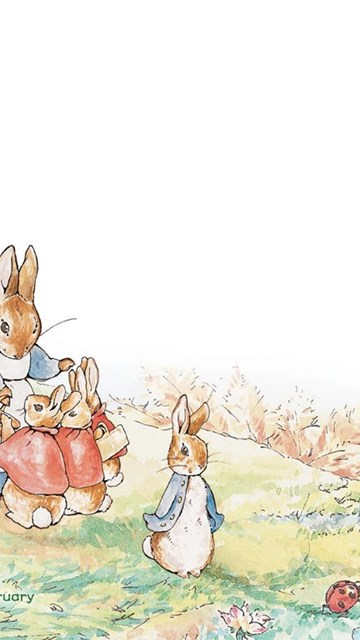 Cute Rabbit Wallpapers For Desktop Letter Paper The World Of Peter Rabbit 1024x768 No 25