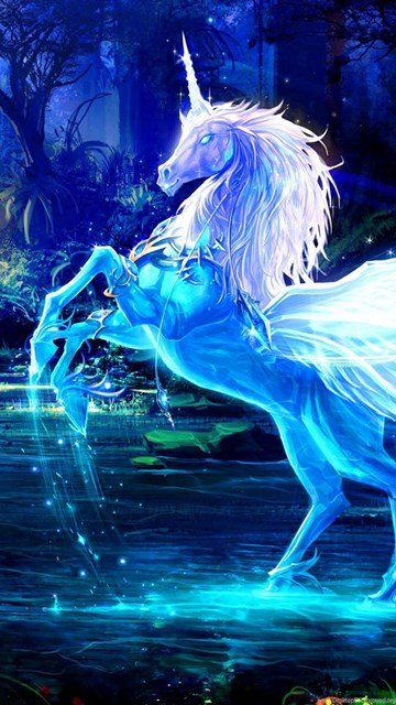 Iphone 4s Home Wallpaper Unicorn Images Collection 48 Desktop Background
