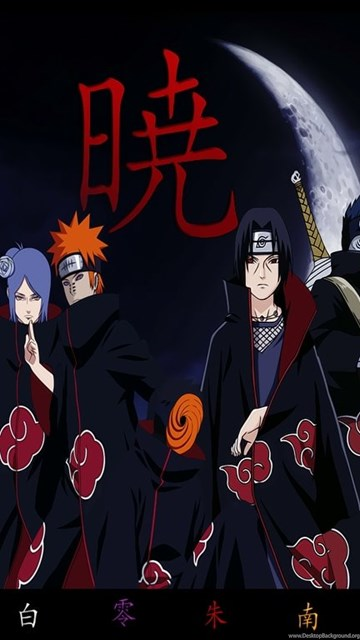 Naruto Wallpaper Iphone X Akatsuki Wallpapers Hd Free Download Desktop Background