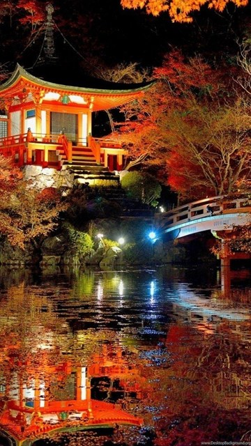Wallpaper Iphone 4s Size Scenery Lovely Japanese Garden Landscape Cool Wallpapers