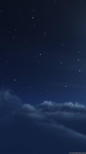 dream night clouds moon