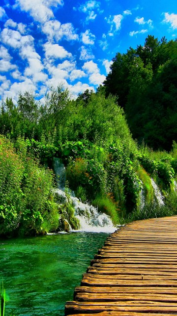 Iphone X Colour Wallpaper Plitvice Lakes National Park Croatia For Wallpapers 25