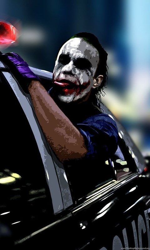 Car Wallpapers 1920 1080 1920x1080 The Joker Police Car Wallpapers Desktop Background