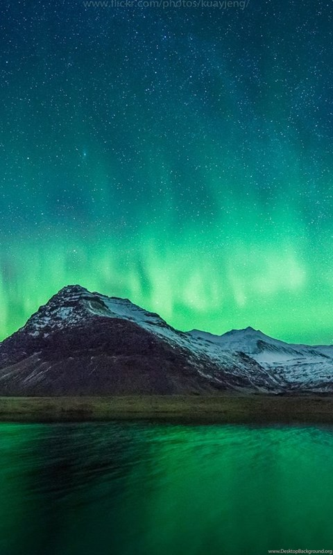 Free Ipod Wallpapers Hd Real Northern Lights Wallpaper Desktop Background