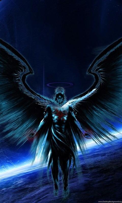 Download Black Hd Wallpapers For Android Dark Angel Desktop Wallpaper Dark Angel Pictures New