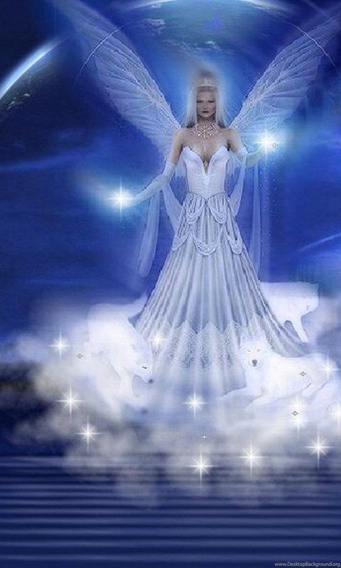 Live Wallpaper For Iphone 3gs Fantasy Angel Wallpapers Hd Desktop Background