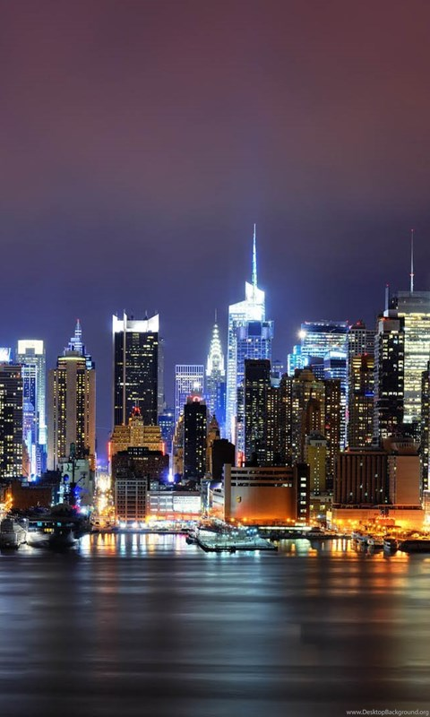 Iphone X Full Screen Wallpaper City New York City Desktop Background Wallpaper 1080p Hd