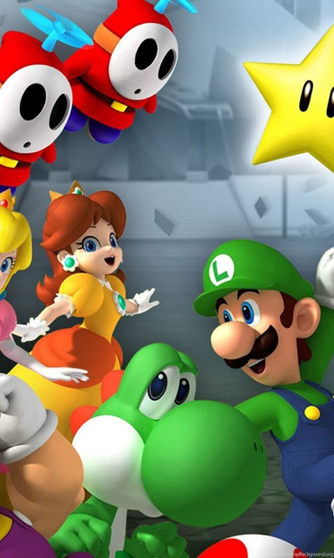 Mario Wallpaper Iphone 5 Game Wallpaper Mario And Luigi 1080p Wallpapers For Hd