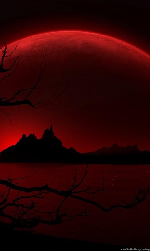 Iphone 4s Wallpaper Hd Download Wallpapers Anne Stokes Blood Red Moon Hd 1920x1080 Desktop