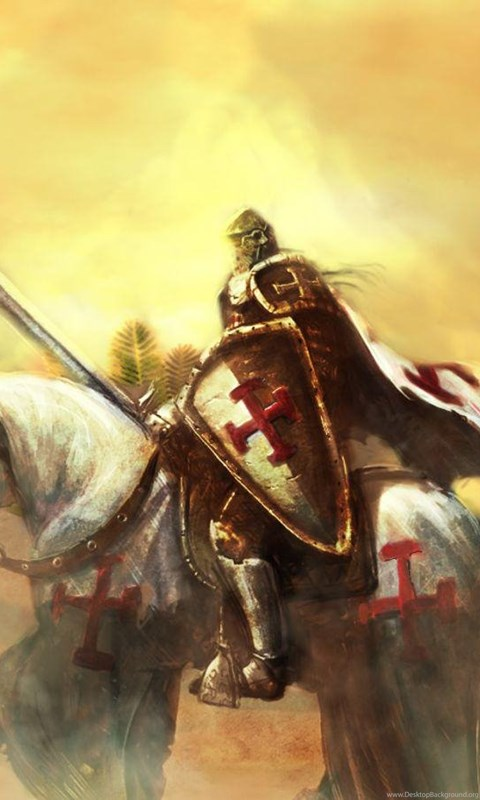 Iphone X Style Wallpaper Templar Knight Art 1600x900 Wallpapers 1600x900