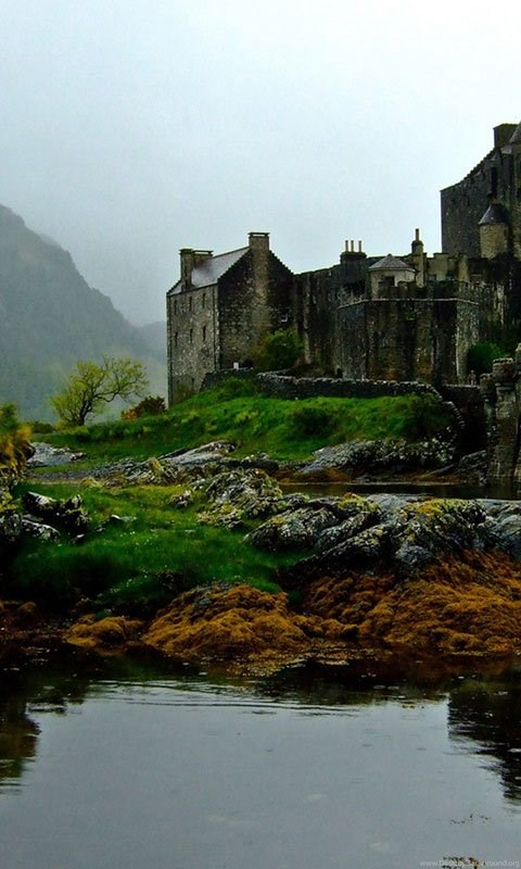 Iphone X Colour Wallpaper Scottish Castle Hd Wallpapers 7 - Landscape Wallpapers
