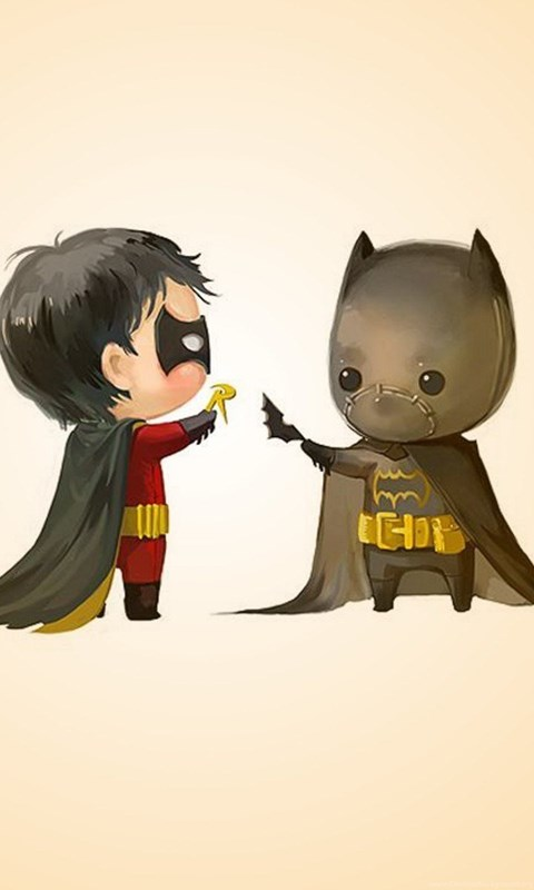 Funny Android Wallpaper Hd Batman And Robin Cartoon Funny Cute Hd Wallpapers
