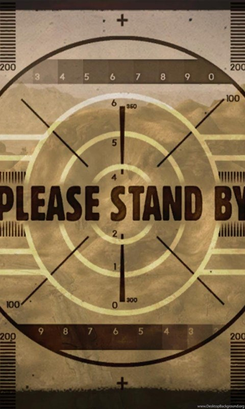 Hd Wallpapers For Android Mobile Full Screen Fallout Wallpapers Please Stand By Wallpapers Desktop