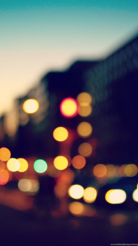 Iphone X Blurred Wallpaper Blurred City Lights Wallpapers Desktop Background