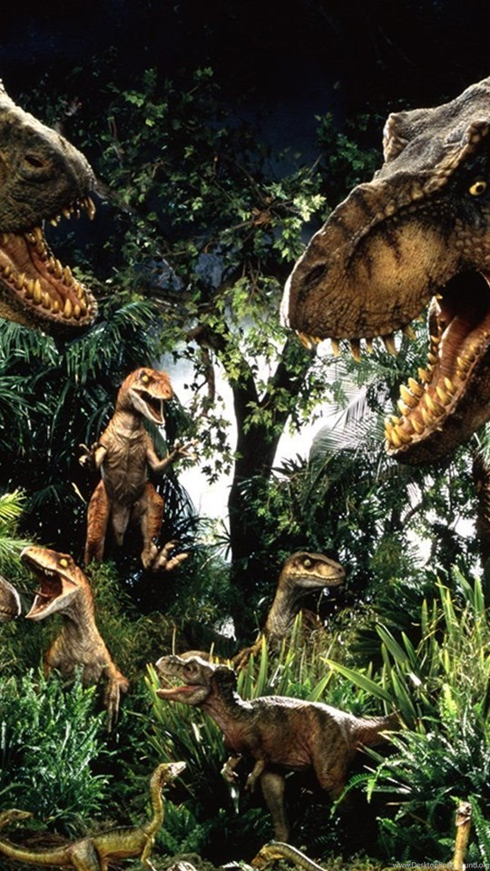 Iphone 5c Color Wallpaper Jurassic Park Dinosaurs Wallpaper Desktop Background