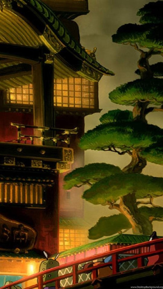 Hd Wallpaper Ipad 3 Spirited Away Wallpapers Desktop Background