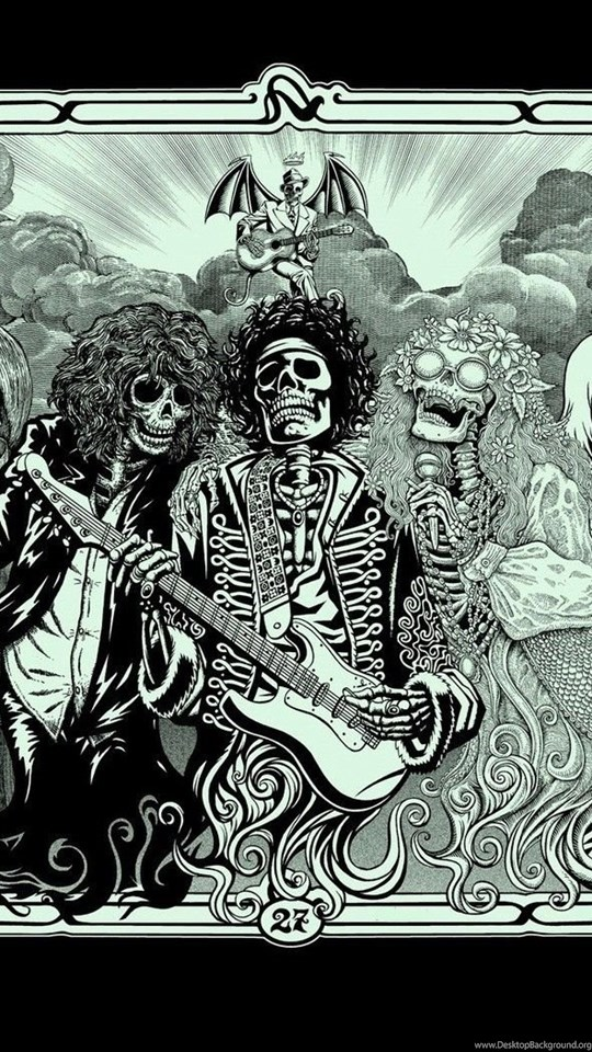 Wallpaper Iphone 4s Size Jimi Hendrix Kurt Cobain Jim Morrison Janis Joplin