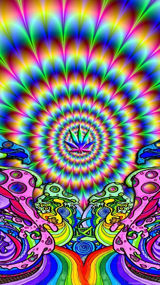 Iphone 5s Animated Wallpaper Trippy Weed Backgrounds 12093 Hd Pictures Desktop Background
