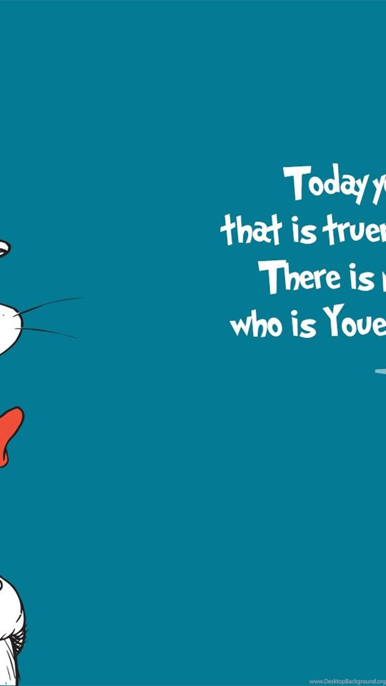 High Resolution Cartoon Dr Seuss Quotes Wallpapers HD 1